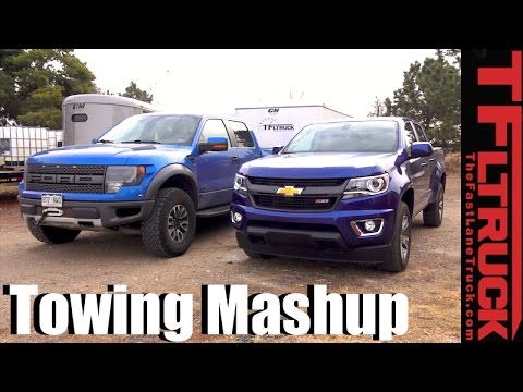 mid size vs half ton mashup what pickup should i buy to best tow a big trailer youtube. Black Bedroom Furniture Sets. Home Design Ideas