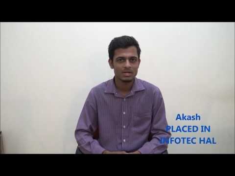 CADMAXX -- Student Akash placed for Infotech HAL