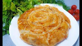 Праздничный Ужин к 8 - МАРТА /  Рецепт Вкусного Пирога Улитка с Начинкой.