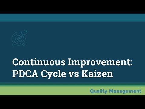 Continuous Improvement: PDCA Cycle vs Kaizen