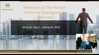The human resource management channel welcome!