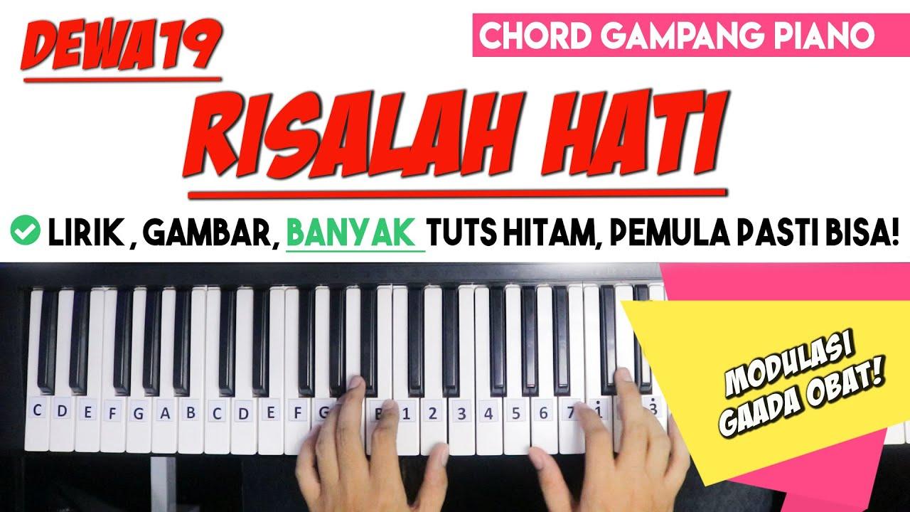 Tutorial Chord Piano Armada Harusnya Aku Mudah Dipahami Untuk Pemula Youtube