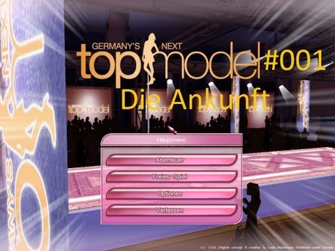 Germany's Next Topmodel - Das Spiel #001 Die Ankunft