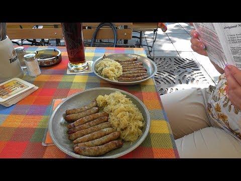 Нюрнберг. Лучшее пиво Германии. Самая старая сосисочная. Пиво Lederer.