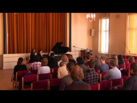 Jonas Olsson, piano: Future classics (Ferneyhough, Svensson, Alvarez)