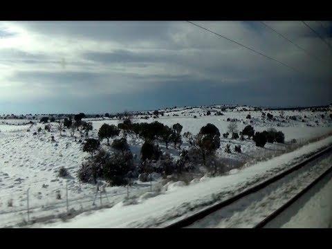 Rail View L Tren AVE de Calatayud a Vallecas 2018 02 10