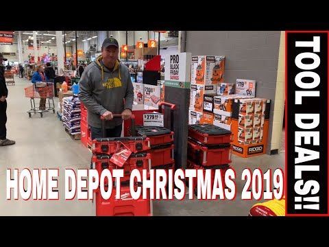 HOME DEPOT TOOL DEALS CHRISTMAS 2019 -EXTENDED BLACK FRIDAY SALES!!