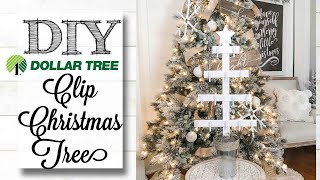DIY Dollar Tree Christmas Tree | 3 of 12 Days of Christmas