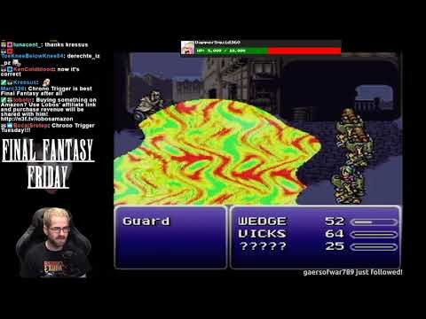 Lobos Plays Final Fantasy VI (Pt. 1)