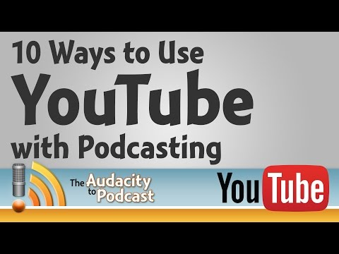 10 ways to use YouTube with podcasting