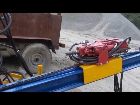 Rock drill Taladro hidráulico para estabilización de taludes