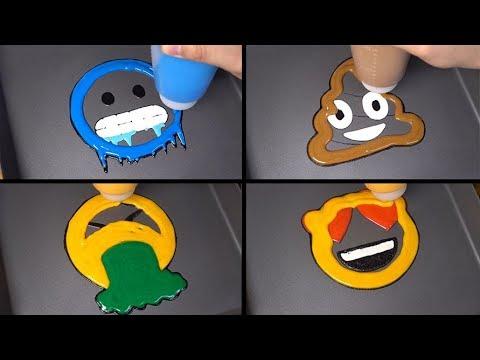 Emoji Pancake Art