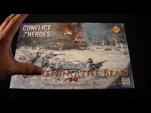 Unboxing Conflict of Heroes: Awakening the Bear 2nd Edition