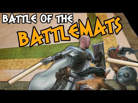 ⚔ Battle of the Battlemats! ⚔ Which RPG Battlemat is Best