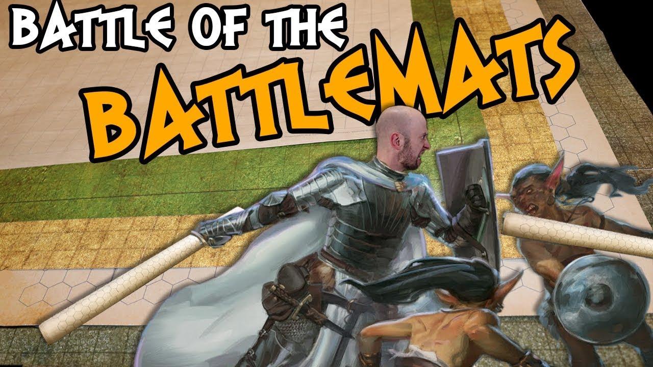 ⚔ Battle of the Battlemats! ⚔ Which RPG Battlemat is Best?