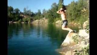 Прыжки в воду летом...СУПЕР!!!!!