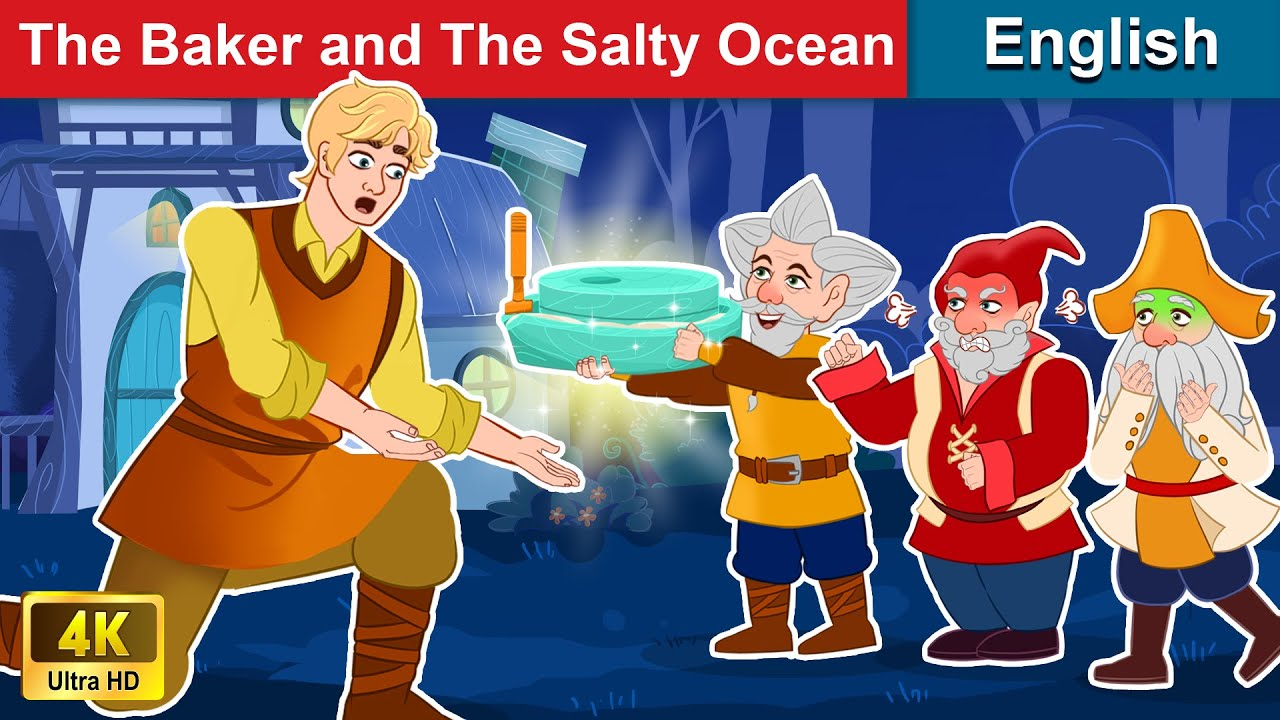 The Baker and The Salty Ocean 🍰 Bedtime stories 🌛 Fairy Tales For Teenagers | WOA Fairy Tales