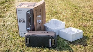 Sony GTK-XB60 unboxing & first impressions