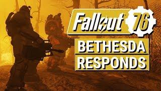 FALLOUT 76: Bethesda Addresses Backlash and STASH INCREASE INCOMING!!