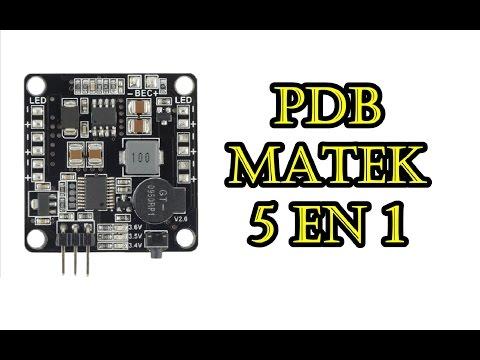 PDB MATEK (5 EN 1)