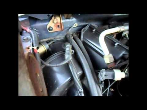 19921996 OBS FSeries: HVAC Not Switching Between The Heater, AC & Defrost Modes  YouTube