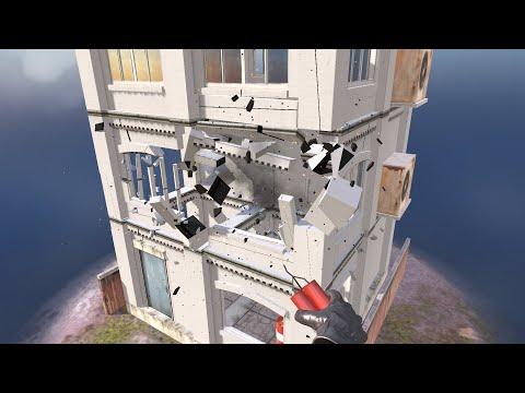Captain TNT - Blast the buildings!