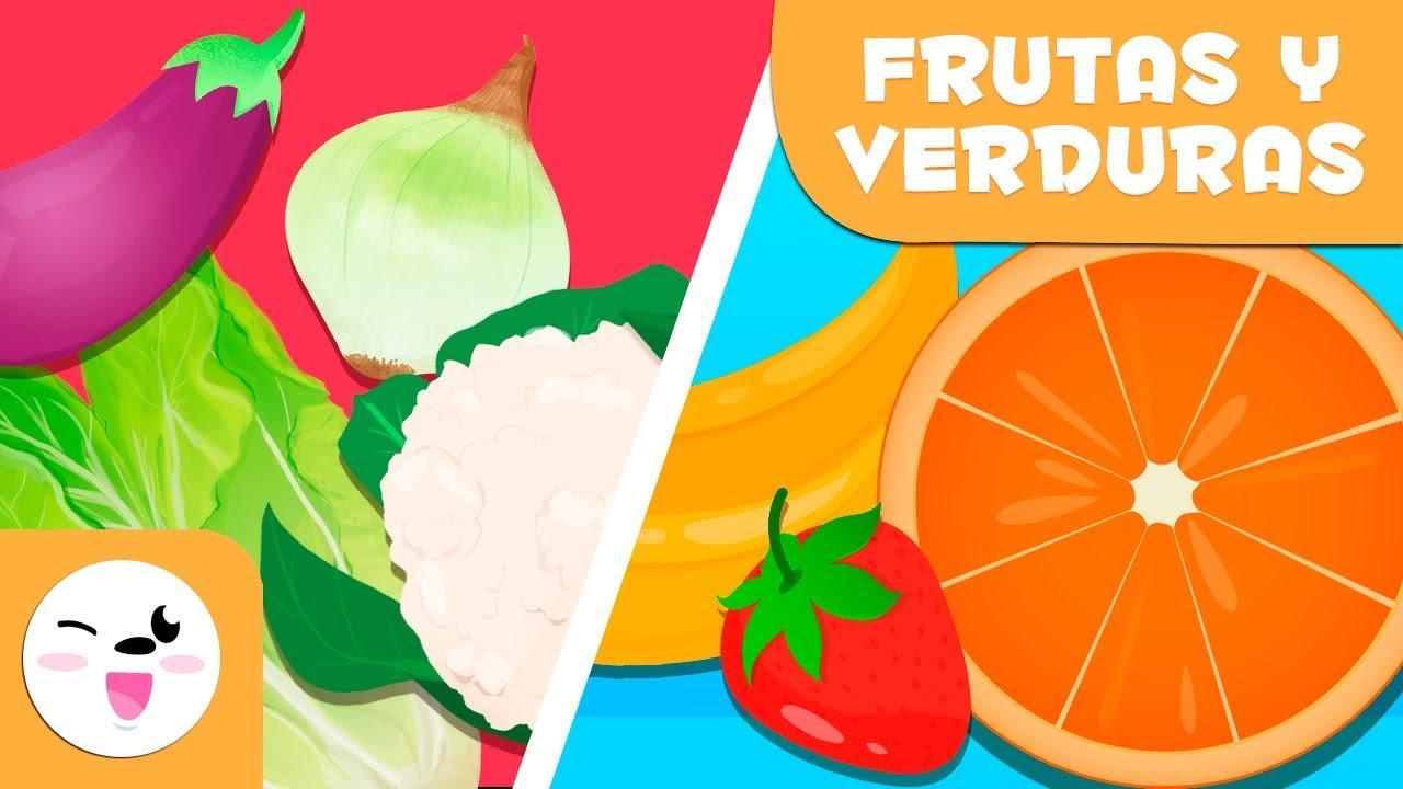 Las Frutas Y Las Verduras Para Ninos Vocabulario Para Ninos