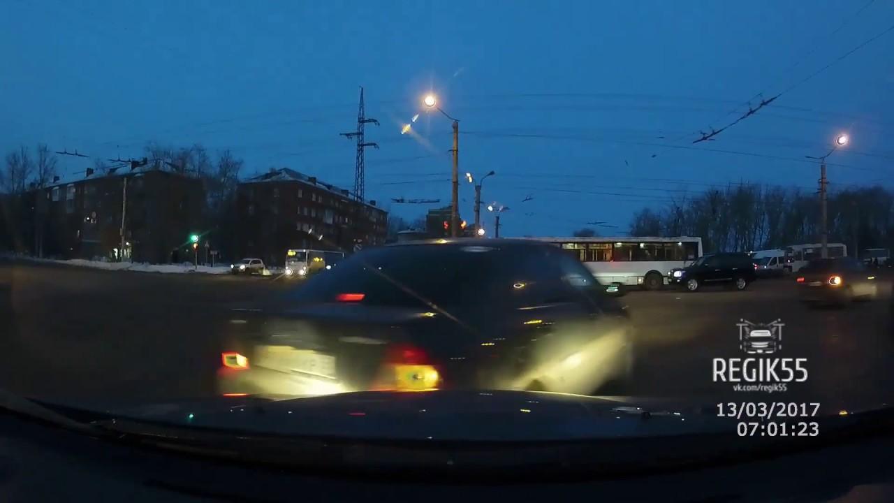 ДТП Омск: нарушитель попался