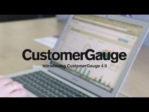 Introducing CustomerGauge 4.0