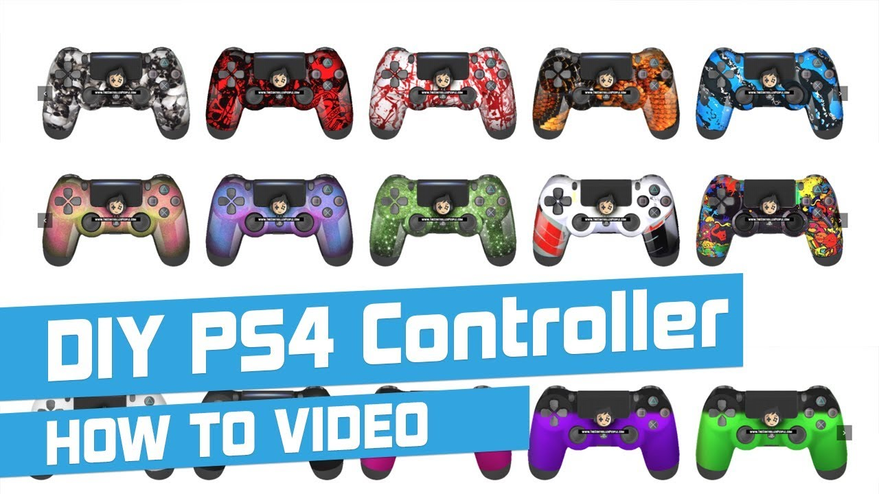 Modded PS4 Controllers - Modify Your Own PS4 Controller