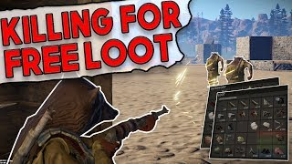 Video I Downed TWO OF THEM For Easy LOOT?! | Rust SOLO SURVIVAL Gameplay download MP3, 3GP, MP4, WEBM, AVI, FLV Desember 2017