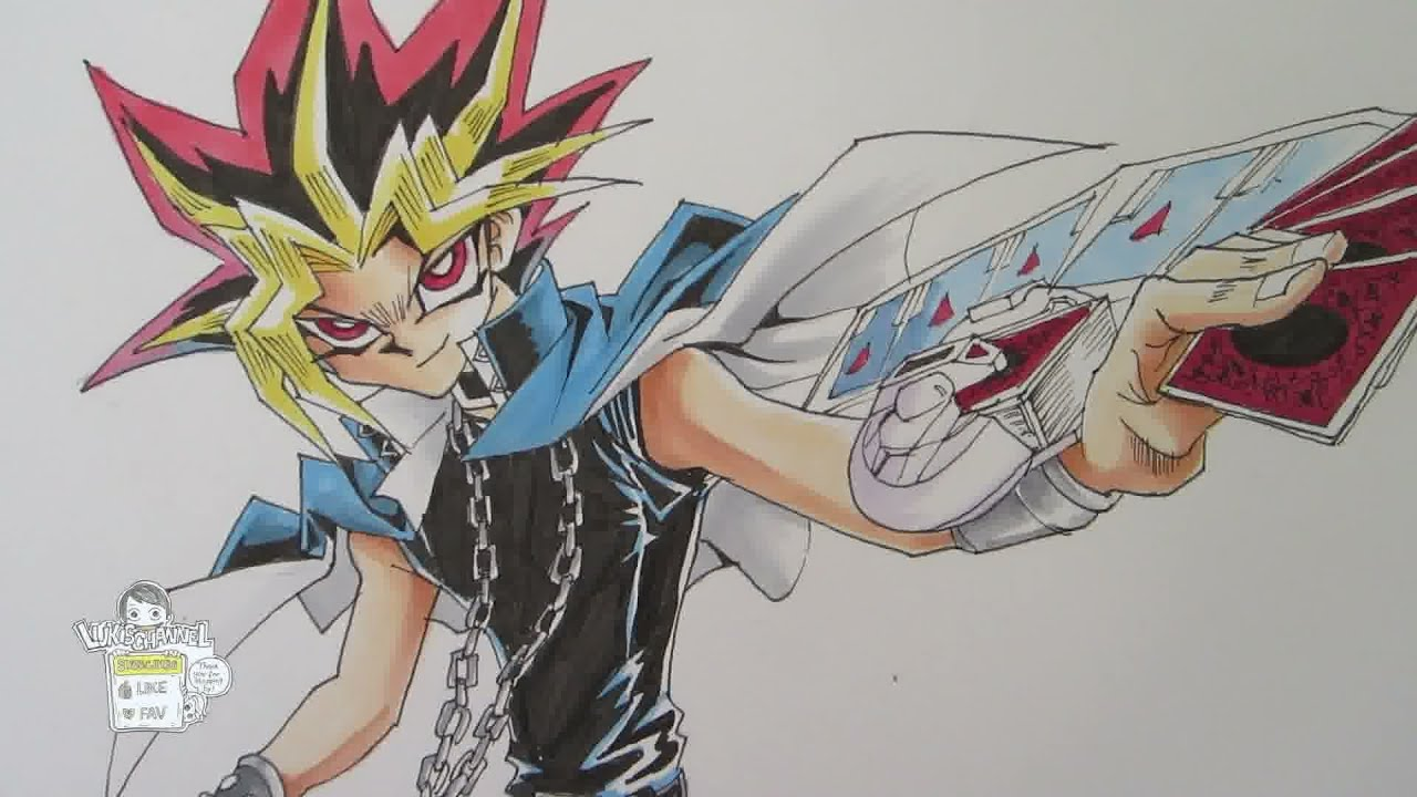 Drawing yami from yu gi oh youtube ccuart Gallery