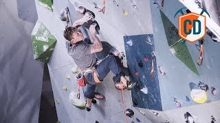 Magnus Midtbø Crushing An 8c Indoor Climb | Climbing Daily Ep.1027