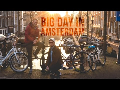 BIG day in Amsterdam with the fam