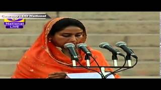 Ms Harsimrat Kaur Badal sworn-in as Cabinet Minister in new Government