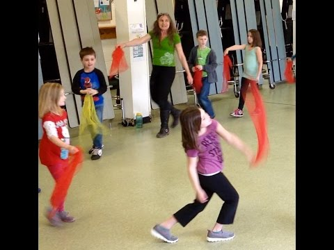 Elementary Circus Skills and Stunts UMS PE