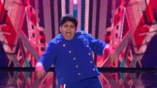Britain's Got Talent 2019 Live Semi-Finals Night 1 Akshat Full Clip S13E09