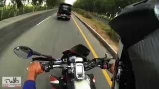 TWO Adventure: 10000km mit dem Motorrad nach Indien Pakistan Police Chase