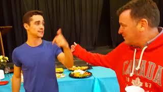 #BrianOrser Fundraiser with #JavierFernandez - Port Carling Figure Skating Club