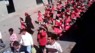 DESFILE DE FERIA SANTA APOLONIA TEACALCO 2012. 1° parte.