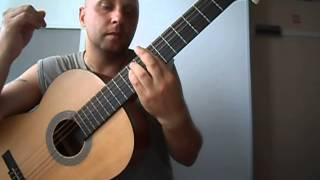 Уроки гитары.Музыка в испанском стиле