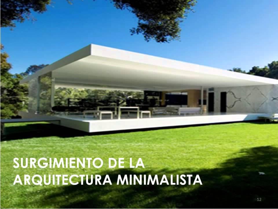 arquitectura minimalista youtube