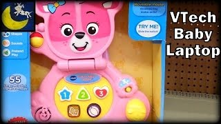 Quick Snippet Review: VTech Bear's Baby Laptop, Pink (In Store)