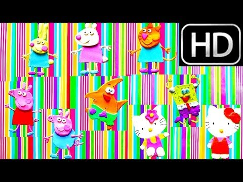 40 Minutes COMPILATION Play-Doh How to make Spoungebob Hello Kitty Peppa Pig