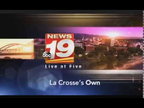 Wxow News Crosse >> Wxow News 19 Live At 5pm Open 6 19 17 Youtube