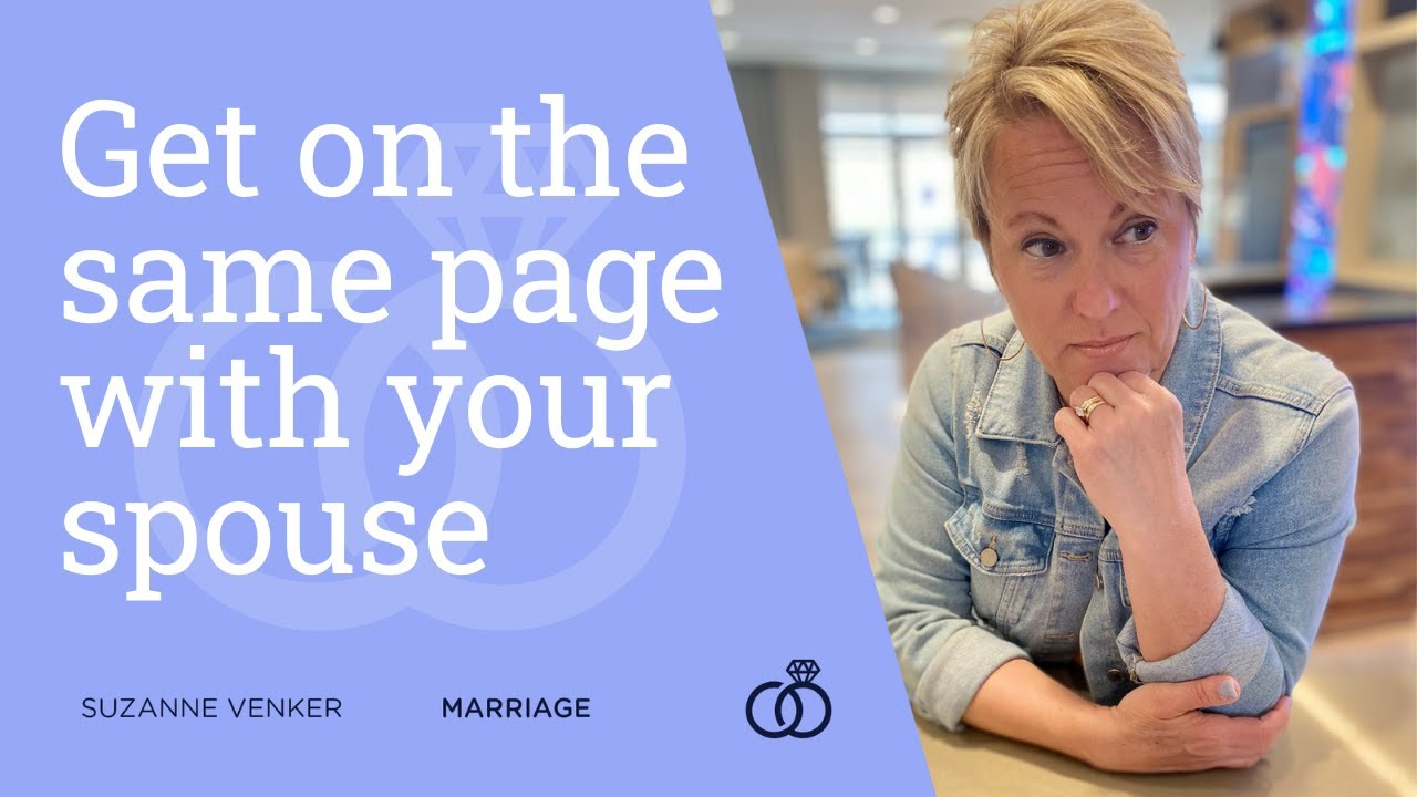 Get on the same page with your spouse