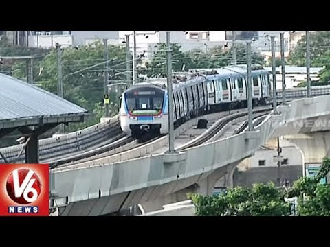 Special Story On Parking Facilities Near Metro Stations In Hyderabad | V6 News