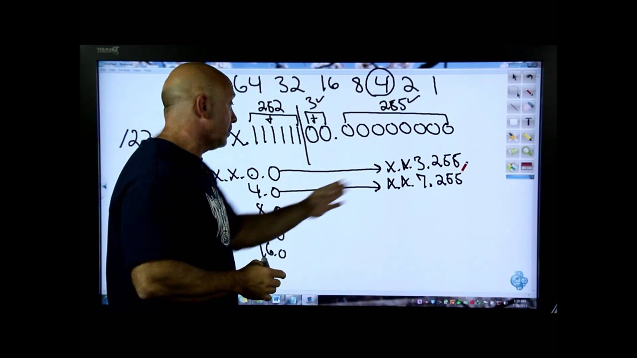 IPv6 - Lesson 3 - Subnetting in IPv4 - (Needed to understand IPv6 ...