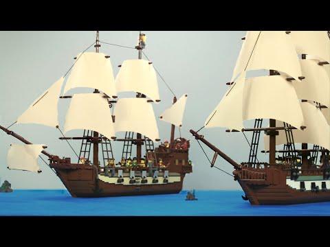 Мультфильм лего пираты