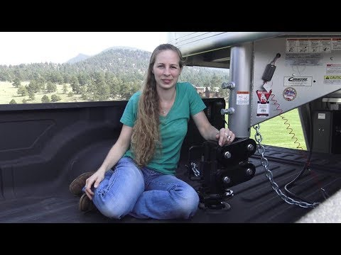 2017 New Gen-y Gooseneck Torsion Suspension coupler review with a Ram 3500